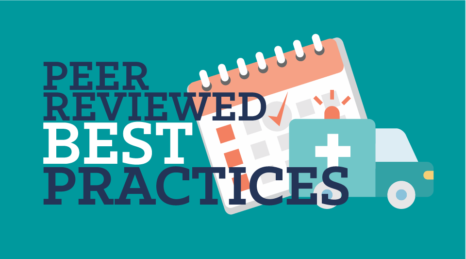 Peer-Reviewed Scheduling Best Practices: Healthcare Facility Edition