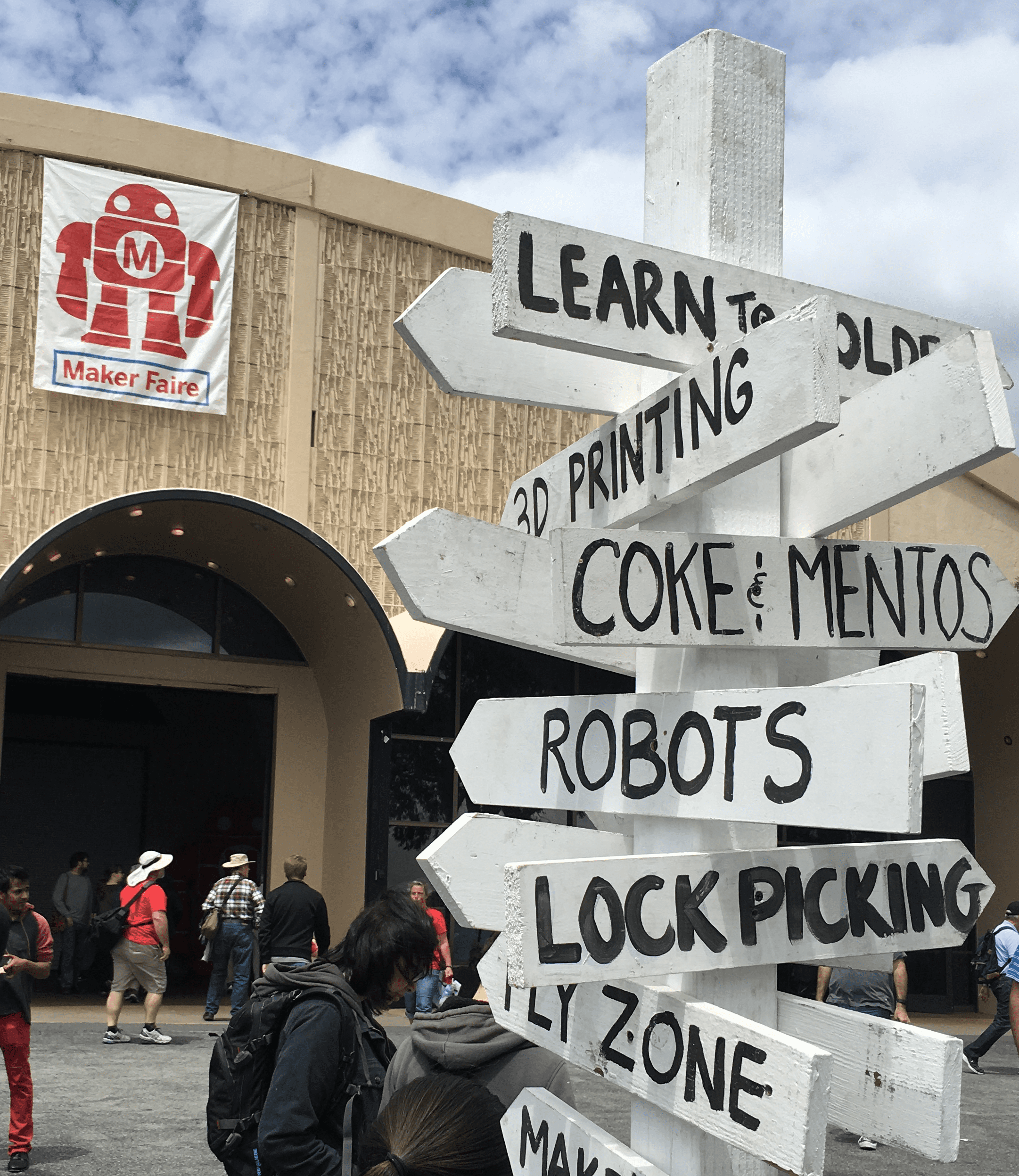 Maker Faire Bay Area Signage