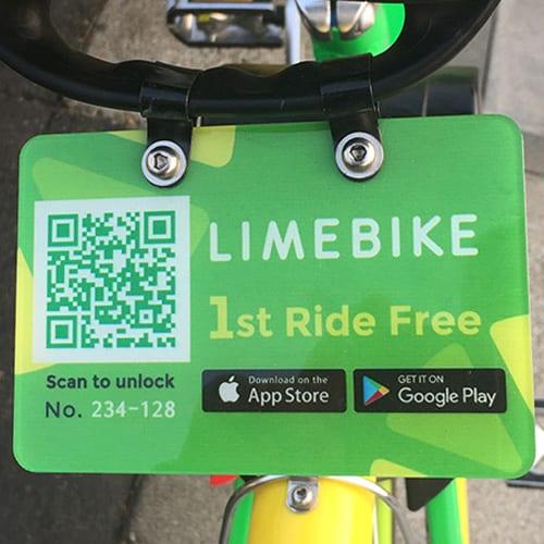 Limebike QR Code