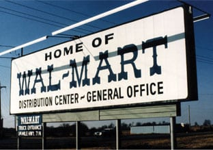 Walmart's first distribution center