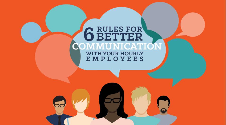 6 Rules for Better Communication