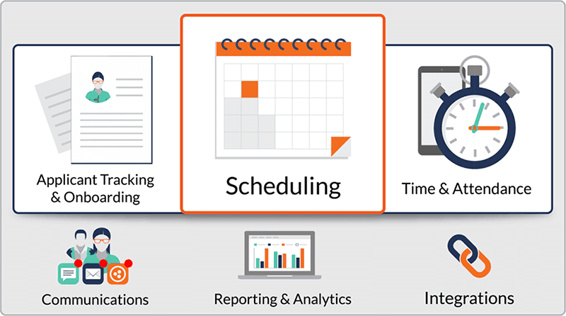 Shiftboard workforce scheduling software graphic