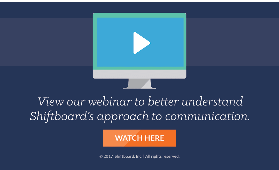 View Employee Communication Webinar