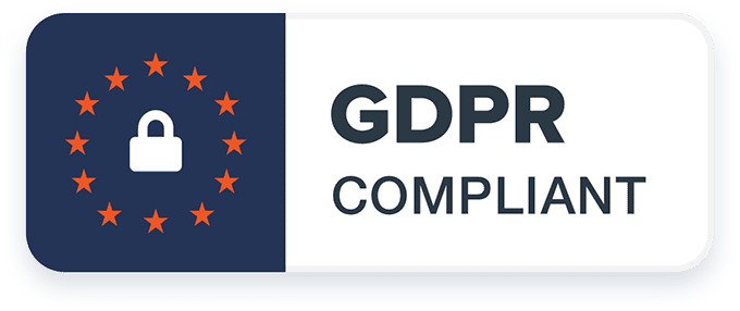 GDPR compliance badge