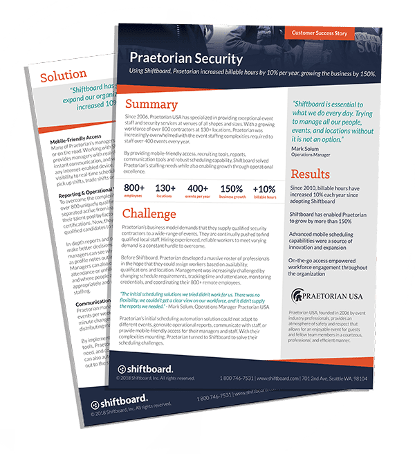 Praetorian Security Case Study