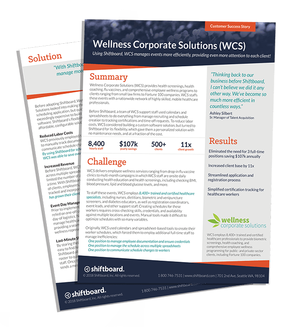 Wellness Corporate Solutions Case Study