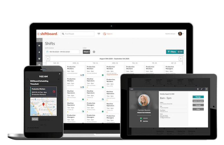 Shiftboard's New Mobile-First User Experience Boosts Productivity of Today's Enterprise Workforce