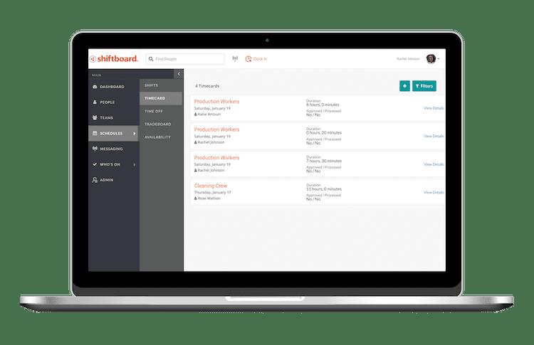 Employee Time and Attendance Tracker | Shiftboard