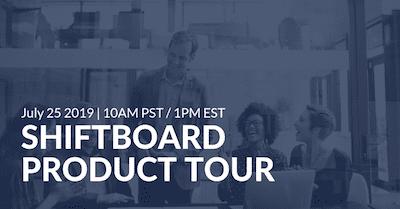 Shiftboard Product Tour Webinar