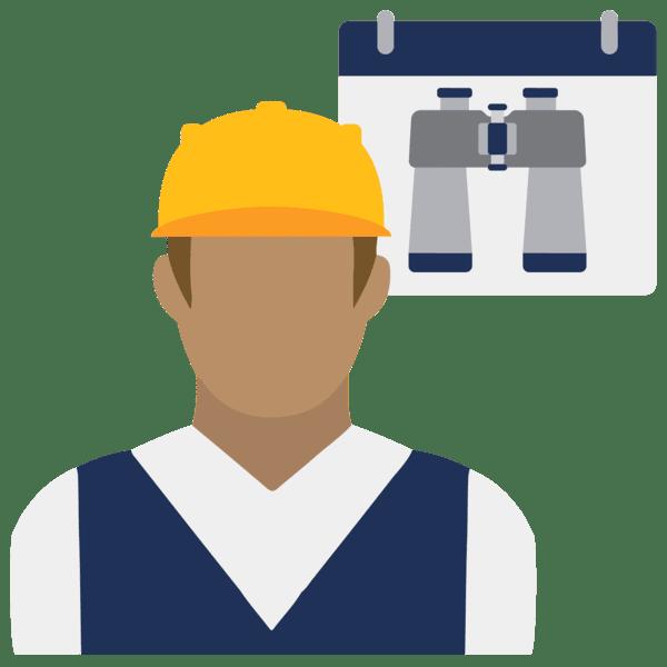 labor forecasting icon