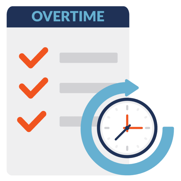 manage overtime rules icon