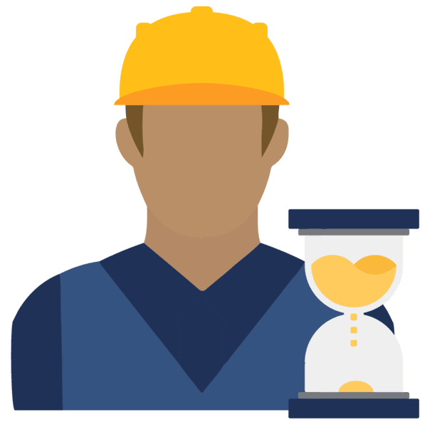 worker productivity icon