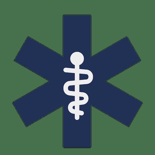 monitor employee health icon