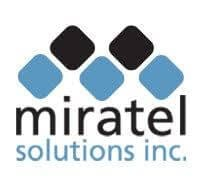 Miratel logo color