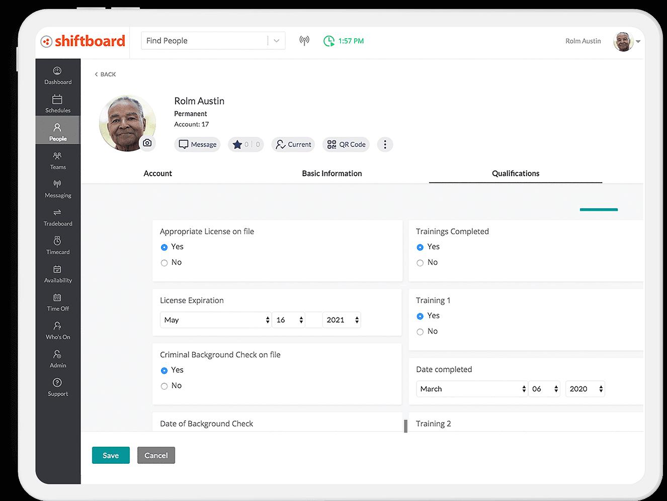 Add Availability on Ipad
